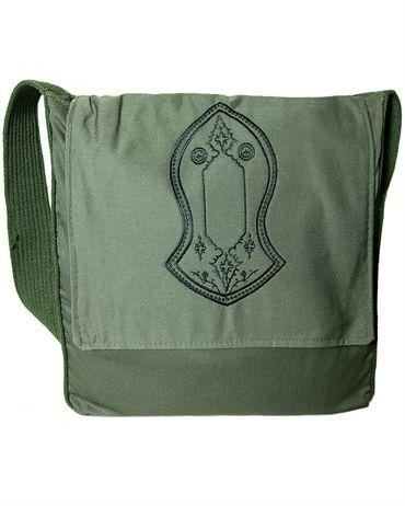 Blessed Sandal. Green Sandal Bag