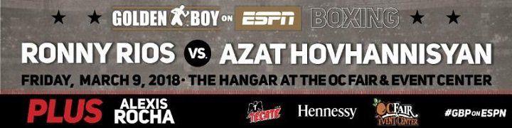 Ronny Rios faces Azat Hovhannisyan on 3/9 #PressRoom #Hovhannisyan #allthebelts #boxing