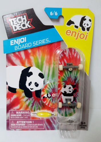 Tech Deck Enjoi Board Series 6/6 Panda FingerBoarding Tie-Dye #panda #techdeck #enjoi #teckdeck #fingerboarding