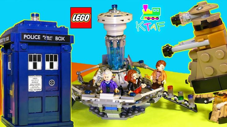 LEGO Dr Who Play and Animation - LEGO Toy Video