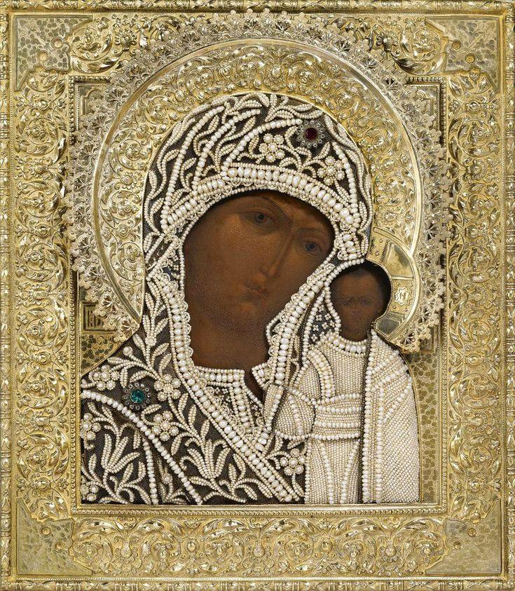 Theotokos of Kazan icon.  Старинные иконы.... Обсуждение на LiveInternet - Российский Сервис Онлайн-Дневников