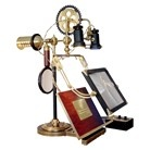 You gotta love steampunk...  The Ferryman Reading and Research Lamp  HYDE OUT Theme Sale Inspired By Victorian Horror | VandM's DESIGNinTELL