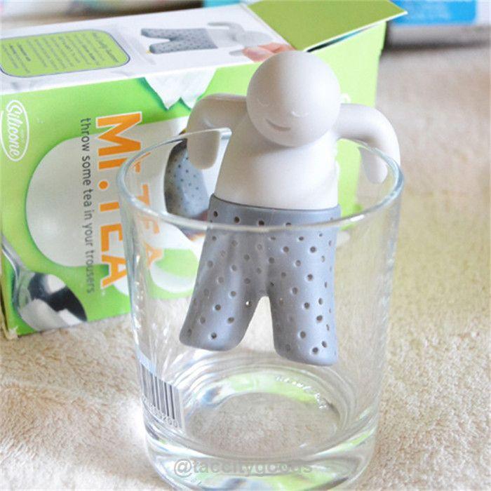 "taccitygoodsco: "" Mr Tea Infuser/Tea Strainer - Kitchen Gadgets - Tac City Goods Co - 5 Link in the bio """