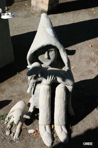 The Shepherd boy - Helen Martins, Nieu Bethesda, The Owl House. (23 December 1897 - 8 August 1976) en.wikipedia.org/...