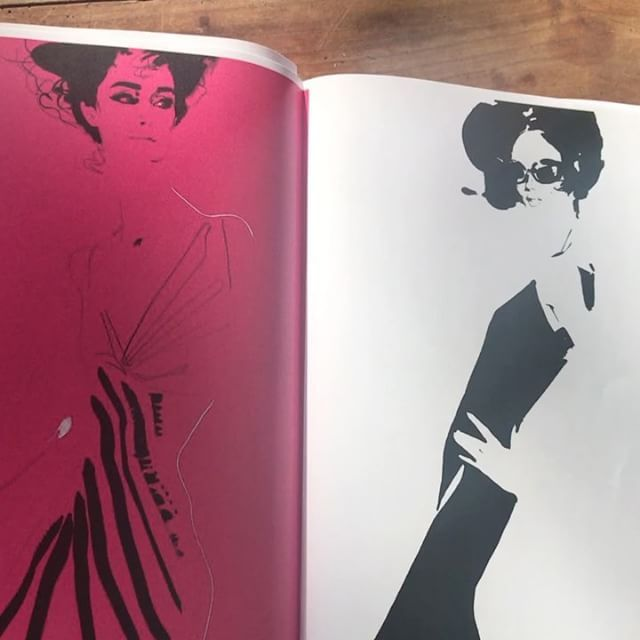 Working Sunday. Photocopied layouts for my new book project, 21 years drawing at the Paris couture shows. Coming this autumn.
