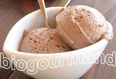 Glace pralinée sans crème, sans œufs - Blog cuisine bio - Recettes bio Cuisine bio sans gluten