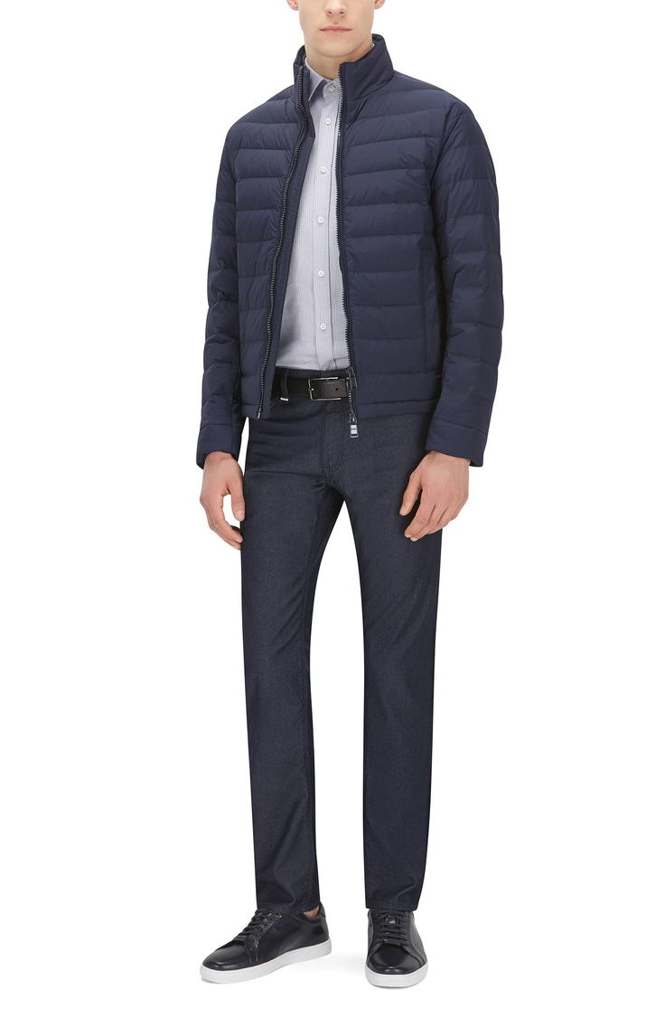 Jeans en denim stretch Regular Fit Maine3 Hugo Boss