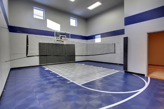 16 best indoor recreation images on pinterest custom for Home plans with indoor sports court