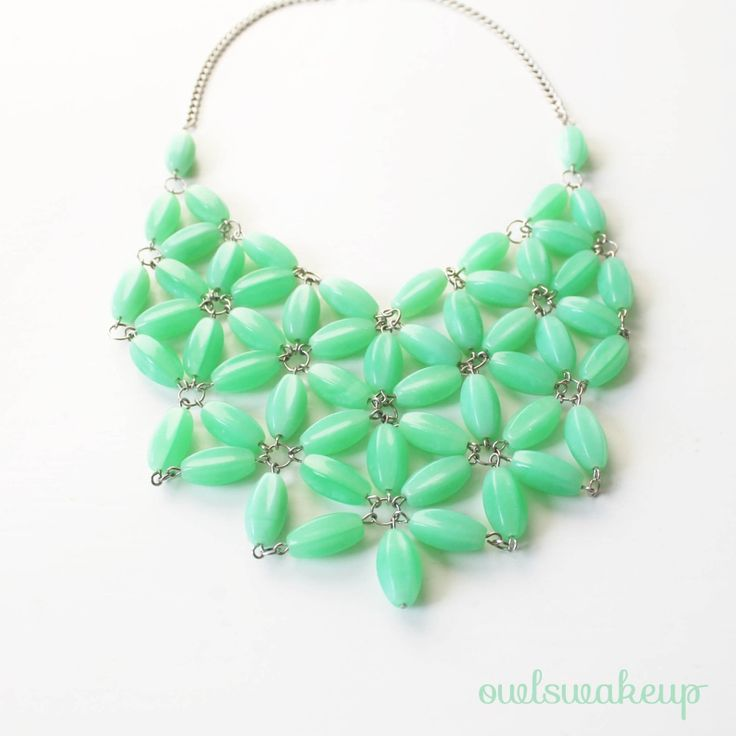 Think Crafts Blog – Craft Ideas and Projects – CreateForLess » Blog Archive » DIY J. Crew Inspired Necklace