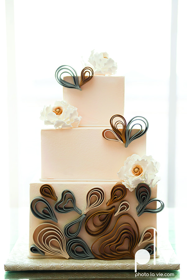 Quilled Wedding Cake Photolavie Cremedelacremecatering