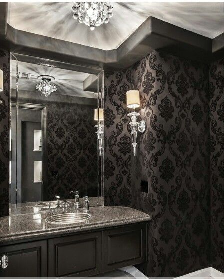 1000 ideas about gothic bathroom on pinterest gothic for Gothic bathroom ideas