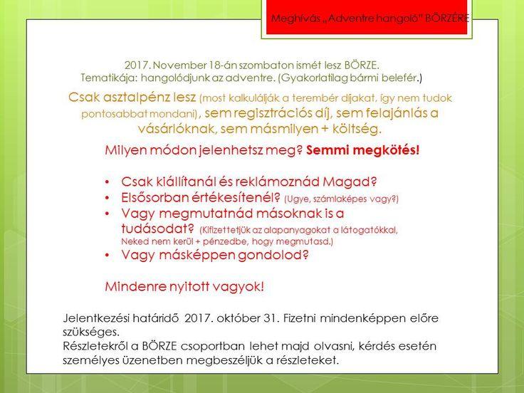 """2017.11.18-án Szolnokon """"Adventra hangoló"""" kézműves BÖRZE. Szervező: Kicsi Kezek Klubja"""