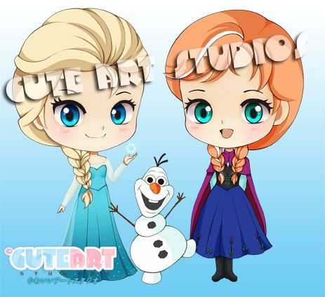 frozen characters drawings - Google Search