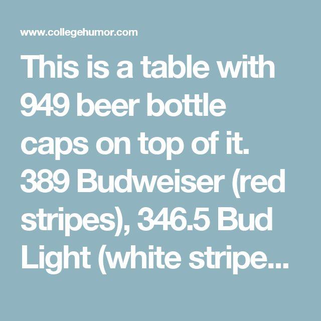 17 Best Ideas About Bottle Cap Table On Pinterest