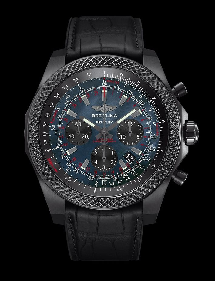 BREITLING Bentley B06 Midnight Carbon http://nuevosrelojes.com/ediciones-limitadas/breitling-bentley-b06-midnight-carbon/