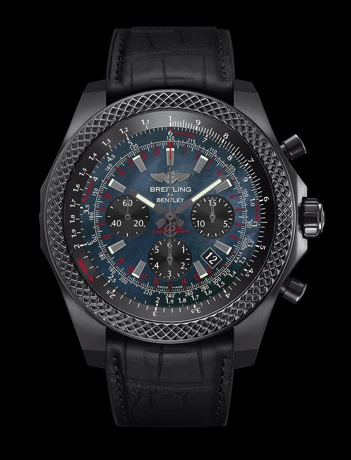 BREITLING Bentley B06 Midnight Carbon http://nuevosrelojes.com/ediciones-limitadas/breitling-bentley-b06-midnight-carbon/