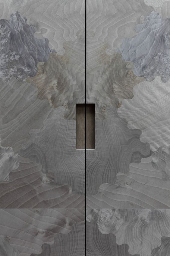 The design and pattern on these doors is just amazing! I love how they're mottled, and have a grain-like look to them. They're just so awesome!