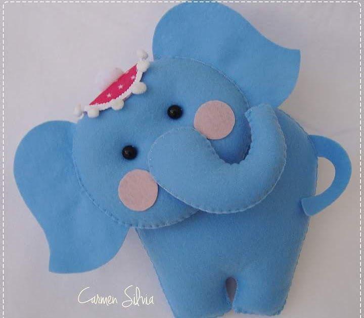 Elefantinho que a Carmen Silva ensinou na Mega Artesanal deste ano...