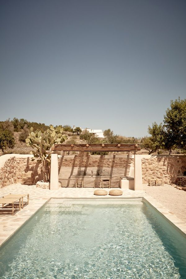 A RUSTIC CHIC GETAWAY ON THE ISLAND OF IBIZA | style-files.com | Bloglovin'