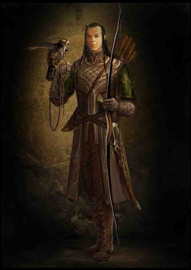 Lord Of The Rings Female Elven Armor