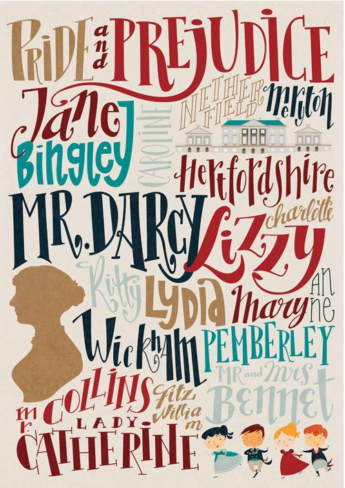 studiorobin:    Pride and Prejudice characters and places