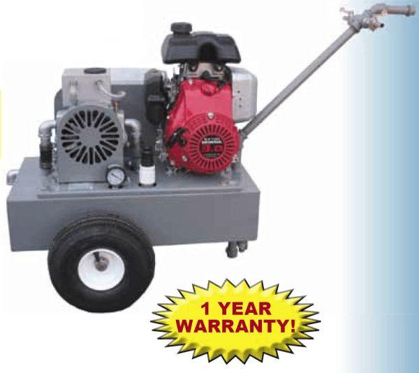 Portable Vacuum Pump - Gas Engine