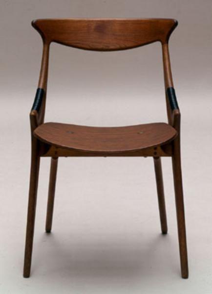 Hovmand-Olsen unupholstered side chair model 71 for Mogens Kold
