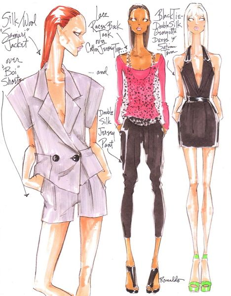 Draw With Fashion Designer & Illustrator Renaldo Barnette | Sponsored by Copic - Fashion Drawing Session (New York, NY) - Meetup