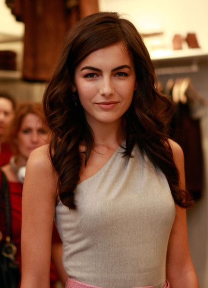 Camilla Belle - love her hair and natural makeup