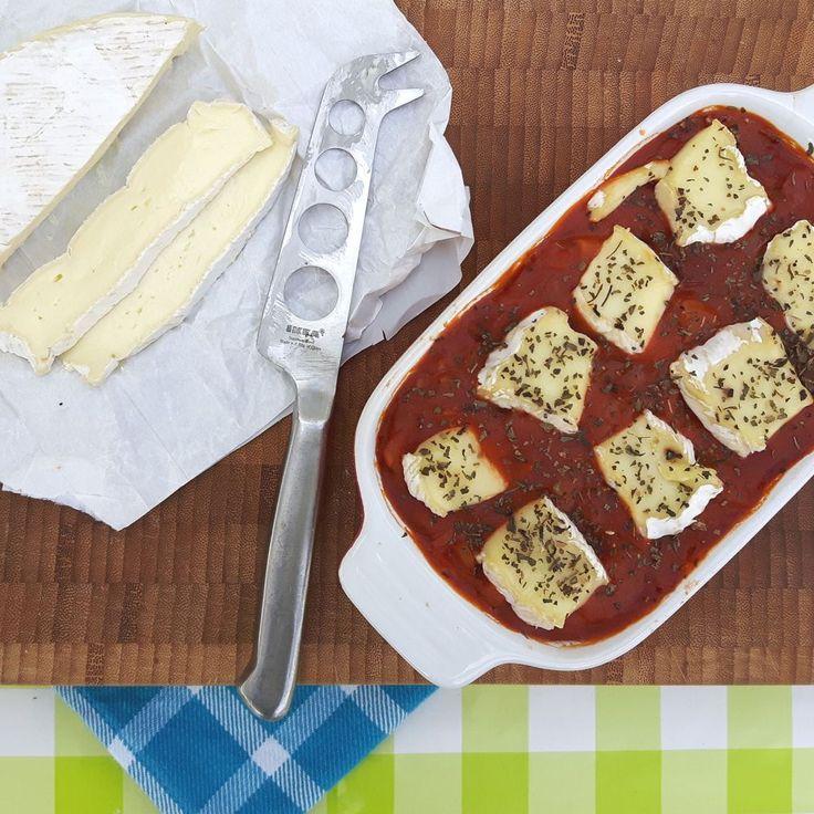 Rijstschotel met tomaat, rode ui & camembert of brie / rice casserole with tomatoes, red onions, camembert or brie / Het keukentje van Syts
