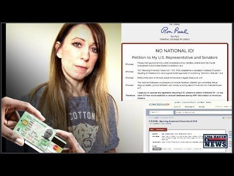 Red Alert! Ron Paul Warns Police State Here! House Resolution Makes Americans Have National ID Card - YouTube Jan 29, 2018. AFTER THIS IS THE MANDATORY IMPLANT, aka TICKET TO HELL.