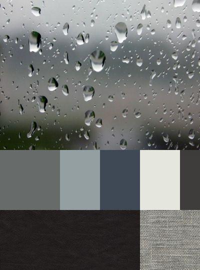 A rainy day - isn't it beautiful ?