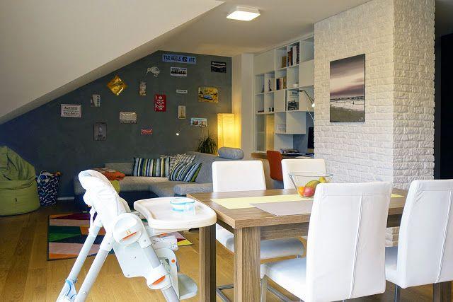 Návšteva po roku: byt pre mladých Strahovákov   Living Styles