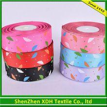 Customized hot sale polka dot ribbon satin strap