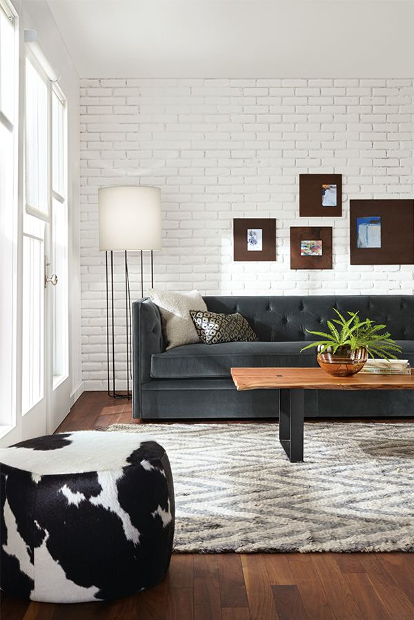 Chesterfield sofa modern interior design  9 best Chesterfield images on Pinterest | Leather chesterfield ...