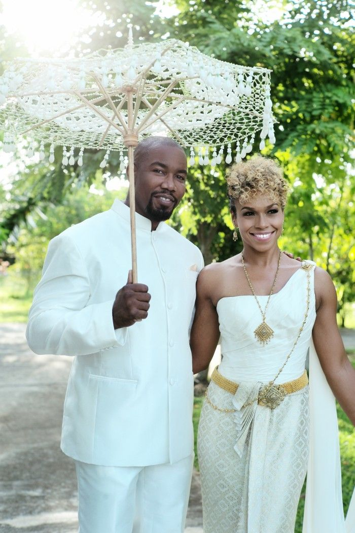 Celeb Michael Jai White and Gillian White Share Thailand Wedding
