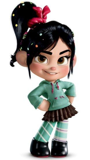 "I got Vanellope Von Schweetz! Which ""Wreck-It Ralph"" Character Are You?"