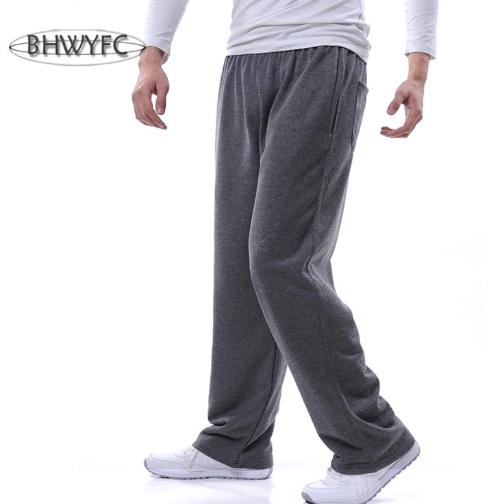 BHWYFC Brand Running Pants Men Sport Pants Men Cotton Sports Training Comfortable Breathable Cycling Fitness Basketball Jogging