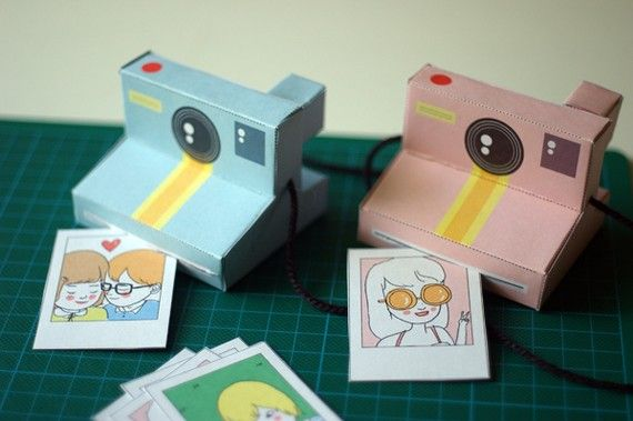 Printable cameras