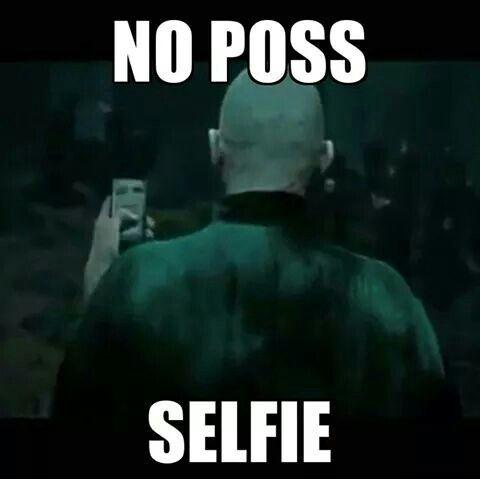 No poss selfie xD