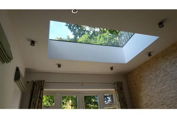 Sterlingbuild Fixed Triple Glazed Flat Window   100x300cm