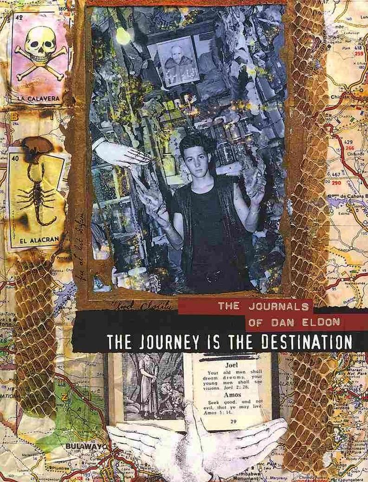 The best-selling and critically acclaimed book The Journey Is the Destination , is now in paperback. Featuring a selection of over 200 pages from the journals of photojournalist Dan Eldon, it is the l