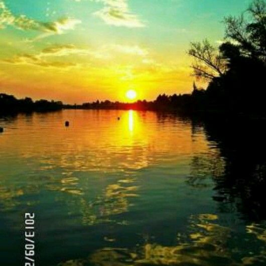 Sunset on the Vaal River