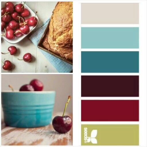 Kitchen Colors Cherries
