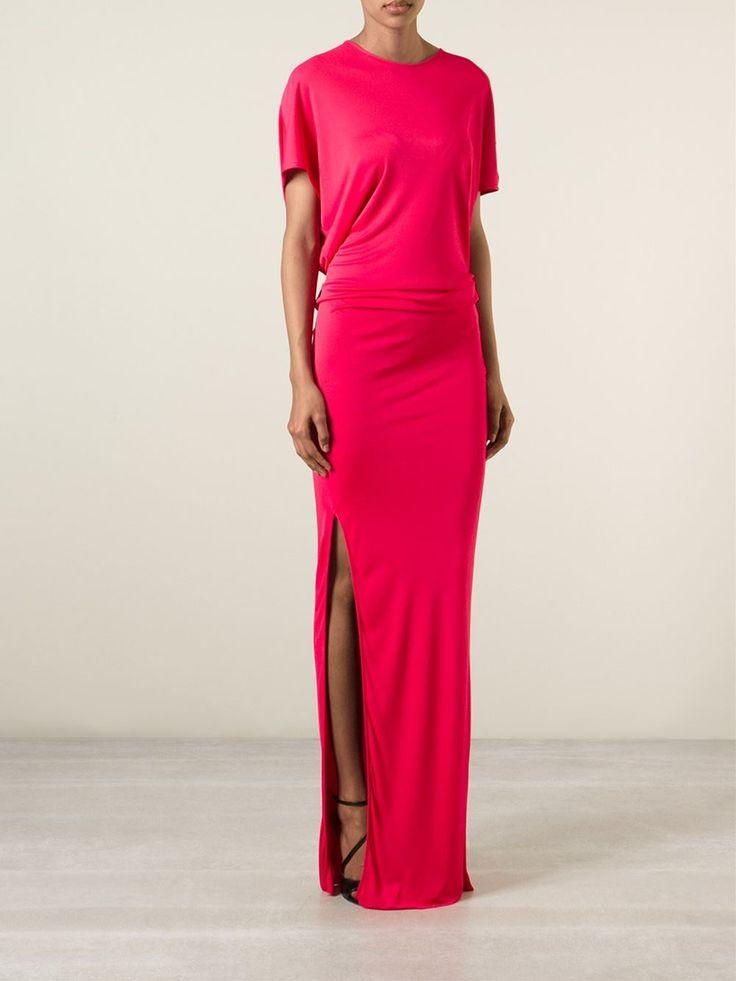 Msgm Draped Open Back Dress - Gigi Tropea - Farfetch.com