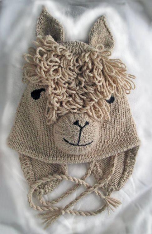 ebe48c4e1187 Ravelry  Alpaca Hat pattern by West Wight Alpacas - Anregung auch zum  HÄKELN…