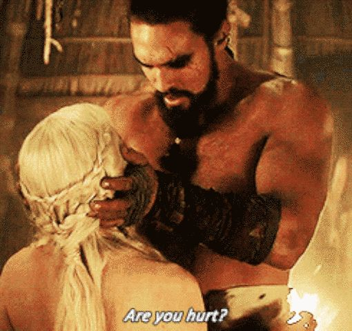 We really started to warm up to him when he grew protective of Daenerys. | An Open Letter To Everyone Who Still Misses Khal Drogo