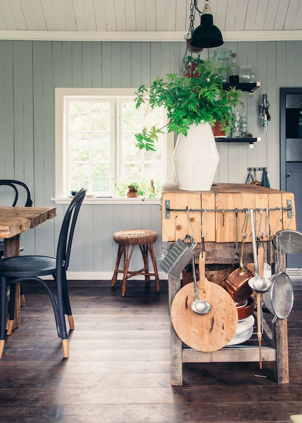 A LOVELY SWEDISH COUNTRY COTTAGE & GARDEN | THE STYLE FILES
