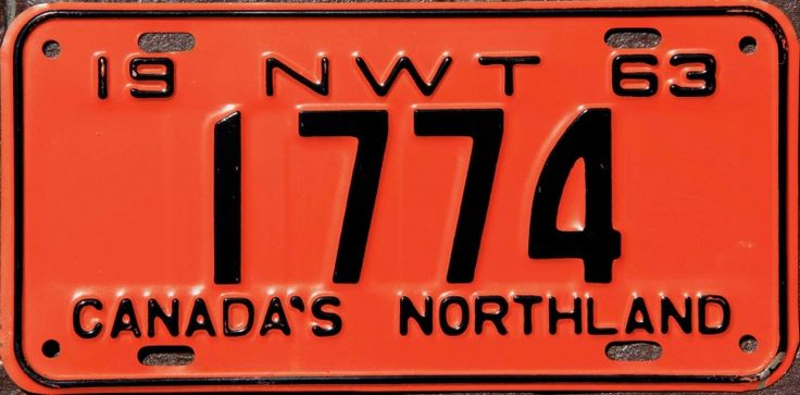 EASYPL8S.COM - Northwest Territories license plates for sale