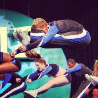 33 best images about cheer jumps, kicks and tumbling on Pinterest ...